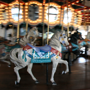 Historic Carousel on Santa Monica Pier