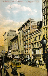 Broadway at 7th in Los Angeles, 1930