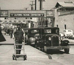 Cannery Row, 1930s