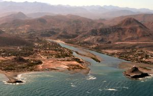 Flying in to Mulege
