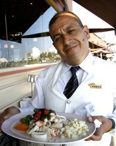 Waiter Tomas Rojas, Lima