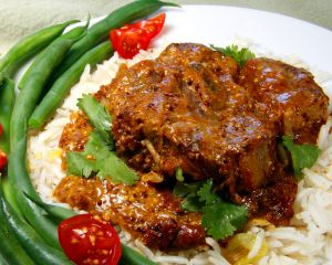 Goat Shoulder Chops in Mustard Curry | A Cook's California