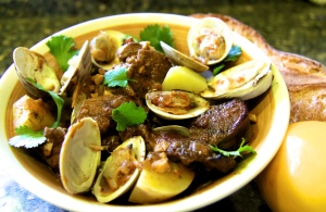 Pork and Clams Alentejo