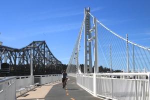 Bay Bridge walk/bike path