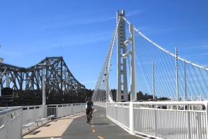 Bay Bridge walk/bike path