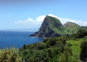 Kahakuloa Head on Northern Maui