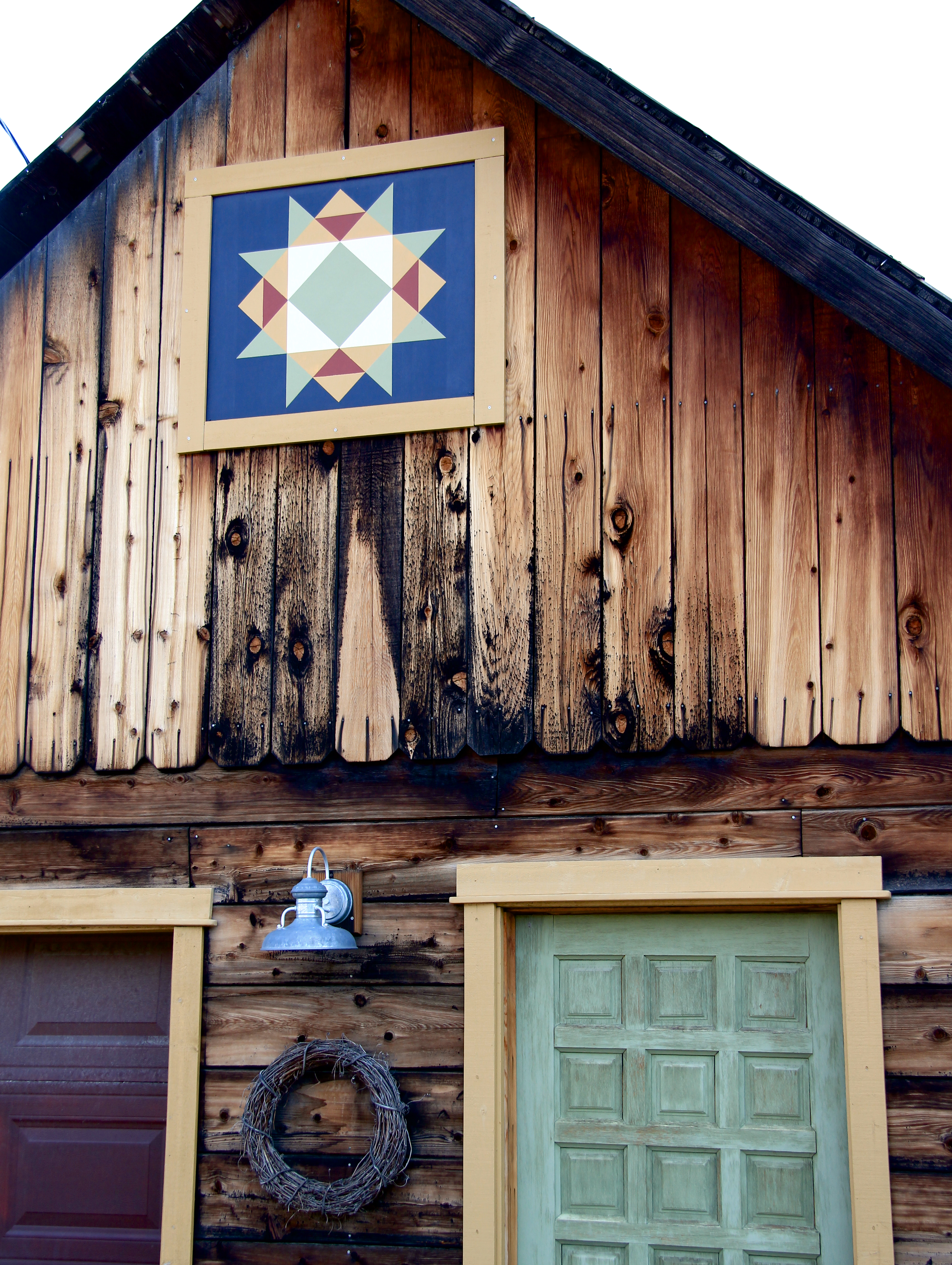 Quincy A Town Of Timber Neighborliness And Barn Quilt A Cooks