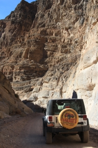 Jeeping into the Narrows