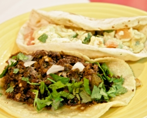 Breakfast Tacos at Mi Tierra