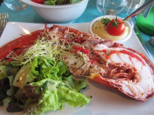 Lobster in Perros-Guirec