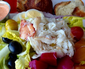 Crab Louie at Salito's